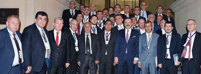 Borsamız Başkanı Osman SARI TOBB Heyeti ile Azerbaycan'da Düzenlenen Türk Dili Konuşan Ülkeler İş Forumu'na Katıldı