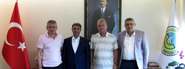 Diyarbakır TB, Malatya TSO ve Tekirdağ TSO Başkanları Borsamızı Ziyaret Etti.