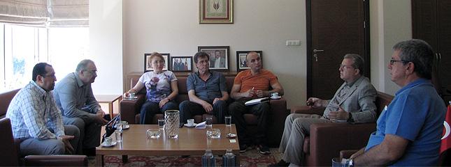 TMO Alım ve Muhafaza Daire Başkanı Borsamızı Ziyaret Etti.
