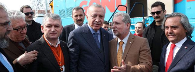 Borsamız Başkanı Osman Sarı Ve Tekirdağ Tso Başkanı Cengiz Günay Cumhurbaşkanı İle Görüştü