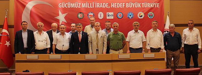 Türkiye'nin 81 İl, 160 İlçesindeki TOBB'ye Bağlı Oda ve Borsalar İle Eş Zamanlı Olarak Basın Açıklaması Düzenledi.