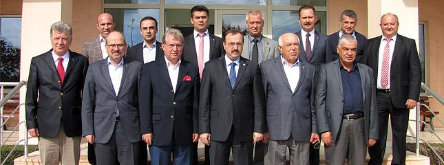 �limiz Adalet ve Kalk�nma Partisi Milletvekili Adaylar� Borsam�z� Ziyaret Etti.