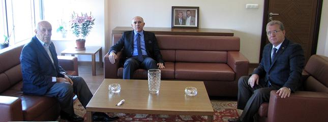 Tekirdağ Cumhuriyet Başsavcısı Sn. Güngör Karakoç Borsamız Başkanlarını Ziyaret Etti.