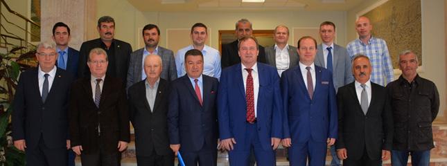 Trakya B�lgesi Ticaret Borsalar� Edirne�de Topland�.