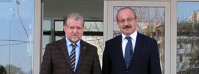 İlimiz Emniyet Müdürü Mustafa AYDIN Borsamıza Nezaket Ziyaretinde Bulundu.