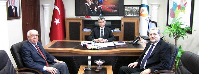 Borsamız Başkanlarının Süleymanpaşa Kaymakamı Arslan YURT'a Hayırlı Olsun Ziyareti