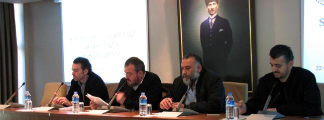 Marmara B�lgesi Un Sanayicileri Derne�i Toplant�s� Borsam�zda D�zenlendi.