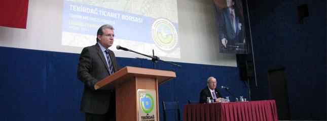 Borsam�z Tar�m Merkezi Projesi Lisansl� Depoculuk Bilgilendirme Toplant�s� BKM�de Yap�ld�