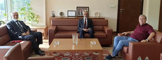 Saadet Partisi Tekirdağ İl Başkanı Borsamızı Ziyaret Etti