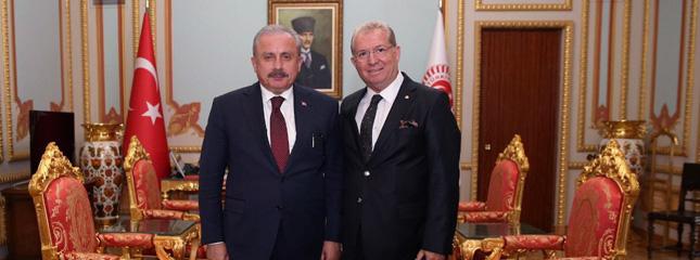 Borsamız Başkanı Osman Sarı TBMM'nin Yeni Yasama Yılı Açılış Resepsiyonuna Katıldı.