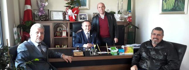 S�leymanpa�a Ziraat Odas�na Tebrik Ziyareti