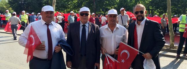 Ter�re Hay�r Karde�li�e Evet, Ankara'da Ger�ekle�ti