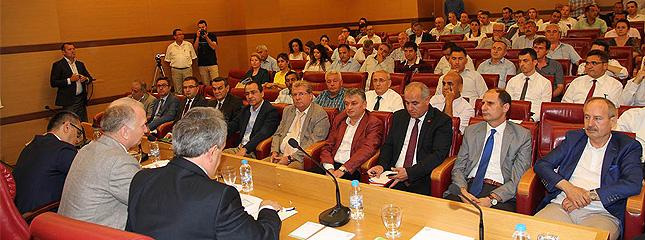 Tarım Sektörü Ekonomi Toplantısı Tekirdağ TSO'da Gerçekleştirildi