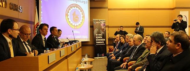 Çalışma Hayatında Milli Seferberlik Konulu Bilgilendirme Toplantısı Tekirdağ Tso'da Gerçekleştirildi