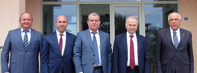 İlimiz Valisi Sn. Mehmet Ceylan Borsamızı Ziyaret Etti