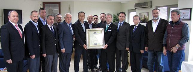 Vali Ali Yerlikaya�dan Borsam�z Meclisine Veda Ziyareti
